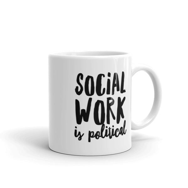 Social Work is Political Mug