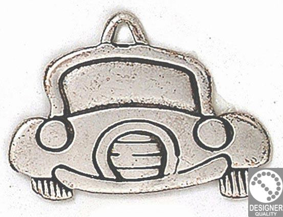 Cartoon car  pendant 43x32 mm