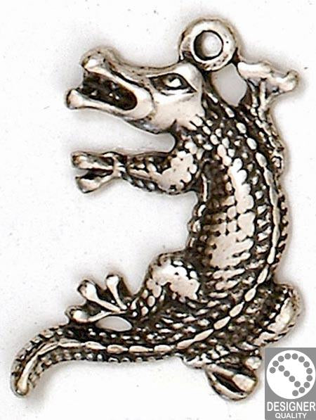 Crocodile pendant 35x46 mm