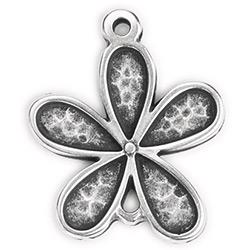 Pendant Flower 27 x 32mm