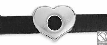 Heart for str. 13x10 mm, diam. 5 mm