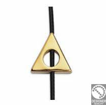 Bead frame 4mm triangle, 10.6 x 11.3 mm