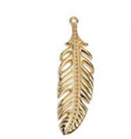 Feather 60mm pendant 18,1x60mm