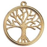 Tree of life wireframe 48mm pendant 43,1 x 47,7mm