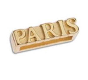Motif PARIS for 10x2,5mm, 3.4 x 12.8 mm