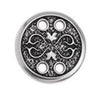 Royal button motif with 4 holes, 19 x 19mm