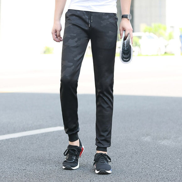 MRMT 2020 Brand New Men's Trousers Camouflage Pants for Male Slim Small Pants Feet 9 Points Trawers Trouser