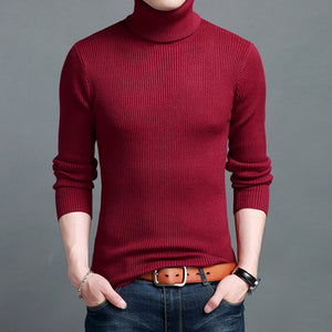 MRMT 2020 Brand New Autumn and Winter Men's Sweaters Cashmere Padded Sweater Slim Pullover for Male Sweater