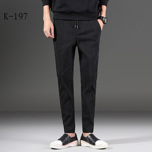 MRMT 2020 Brand Spring and Summer New Men's Trousers Casual  Pants for Male Elastic Sweatpants Small Feet Trouser