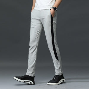 MRMT 2020 Brand Summer and Autumn Men's Trousers Casual Stretch Fashion Pants for Male Loose Small Feet Trousers
