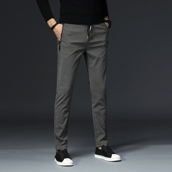 MRMT 2020 Brand Autumn and Winter Men's Trousers Casual Stretch Trousers Pants for Male Straight Trousers