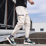 Cotton Linen Joggers Black Men's Harem Pants Solid Fitness Casual Ankle-Length Mens Trousers Summer Streetwear Clothes Male