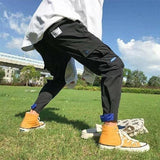 Hip Hop Sportswear Ankle-length Pants Casual Sweatpants Fitness Joggers Men Pants Street Trousers