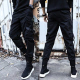 Man Jogger Camouflage Side Pockets Loose Style Men's Sweatpants Fashion 2020 High Street Casual Pants