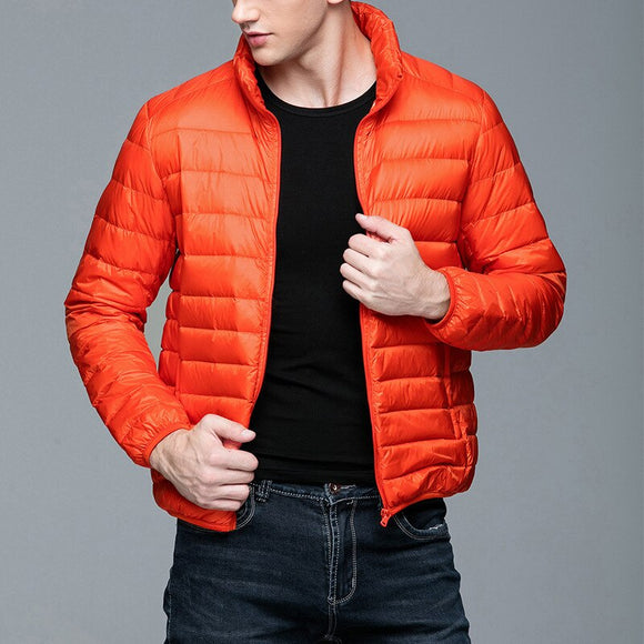MRMT 2020 Brand Autumn Winter New Men's Jackets Light Down Short Collar Young  for Male Light Down Feather Coat Clothing