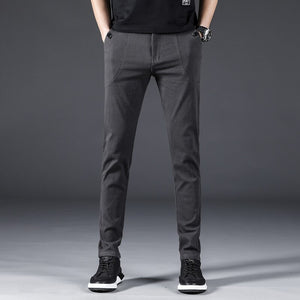 MRMT 2020 Brand Spring Summer New Men's Trousers Cotton Small Feet Stretch Pants for Male Casual Trouser