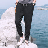 Casual Harem Pants Men Jogger Pants Men Fitness Trousers Male Chinese Traditional Harajuku 2020 Summer Clothe 4XL 5XL