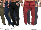 2020 Spring Autumn Brand Men Pants Hip Hop Harem Joggers Pants Male Long Trousers Fashion Joggers Fold Pants Sweatpants M-4XL