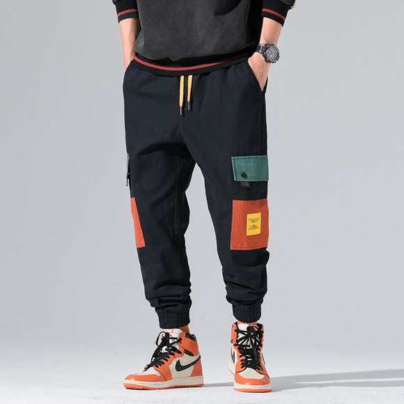 2020 New Autumn Military Track Pants Men Fashion Brand Trousers Men Streetwear Mens Joggers Pants Cargo Navy Kargo Pantolon