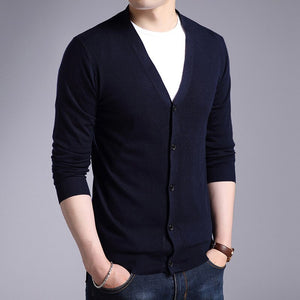 MRMT 2020 Brand Men's Sweater Jacket Knitted Long Sleeve Overcoat for Male Cardigan Sweater Jacket Clothing