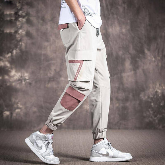 2020 Mens Camouflage Tactical Cargo Pants Men Joggers Boost Military Casual Cotton Pants Hip Hop Ribbon Male army Trousers