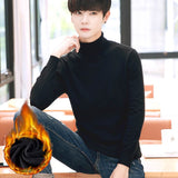 MRMT 2020 Brand New Men's Knitted Sweaters Fashion Pure Sweater Leisure Pullover for Male High-necked Sweater Clothing
