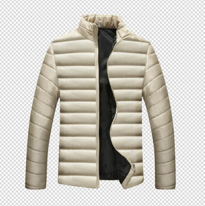 MRMT 2020 Brand Autumn Winter New Men's Jackets Thick Collar Solid Color Cotton Overcoat for Male Casual Cotton Jacket Clothing