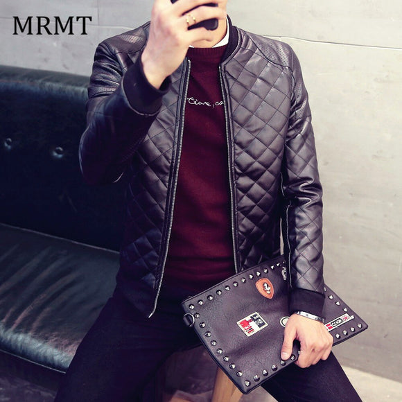 2020 Brand New Leather Clothing Mens Jacket Coat Fall Winter Biker Bomber male Jacket thin men's Jackets Men PU Warm coats