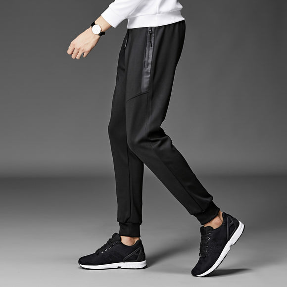 MRMT 2020 Brand Autumn Large-size Men's Trousers Casual Closure Small Feet Solid Color Pants for Male Slim Fit Long Trouser