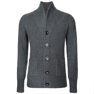 MRMT 2020 Brand New Men's Sweater Jackets Thick Coat  Knit Knitted Sweater Overcoat for Male Raglan sleeve Jacket