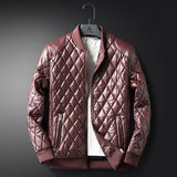 MRMT 2018 Brand  clothing Men's  Jackets Overdress For Male Outer clothing  pu  Leather  Coat