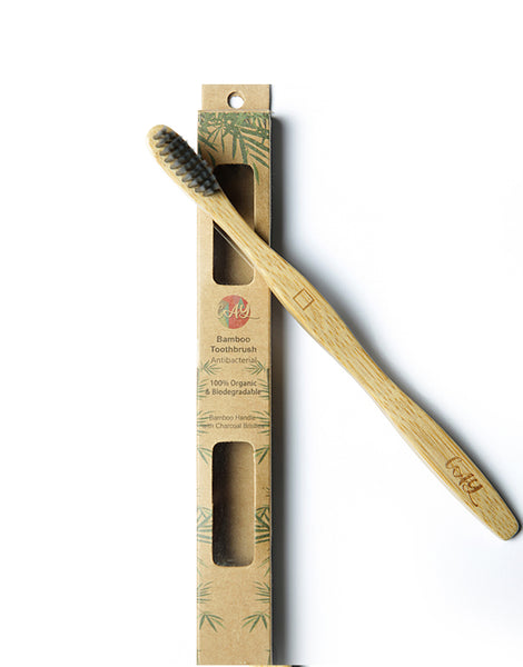 Bamboo Charcoal Tooth Brush ( Adult )
