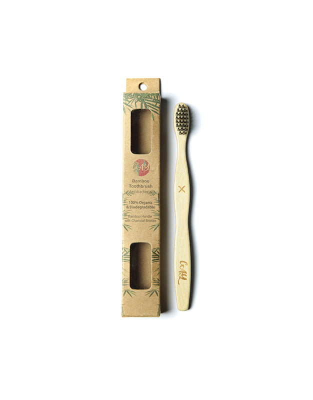 Bamboo Charcoal Tooth Brush (Kids)