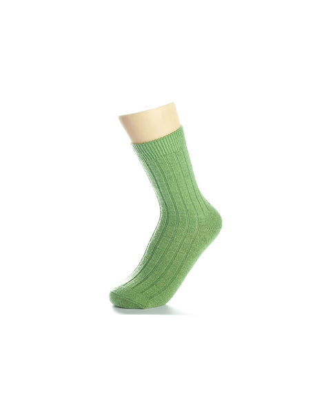 Cozy Green Socks
