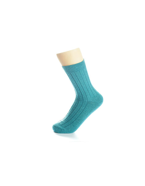 Cozy Sea Green Socks