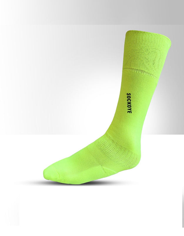 Neon Green Football Socks