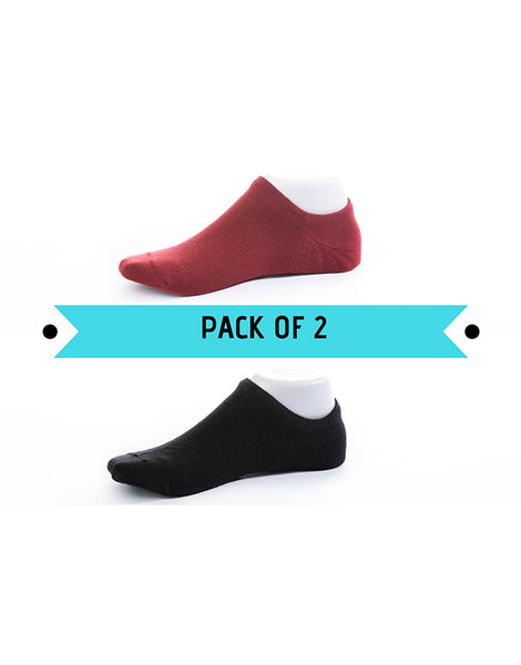 No Show Socks Pack of 2