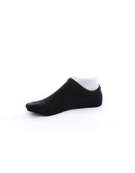 No Show Socks - Jet Black
