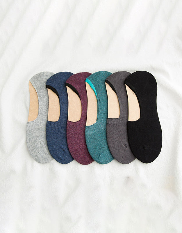 Pack of 6 Socks - Loafer Liners