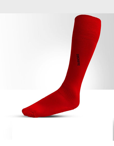 Red Football Socks
