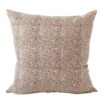 Amalfi Rust Linen Cushion 50x50cm