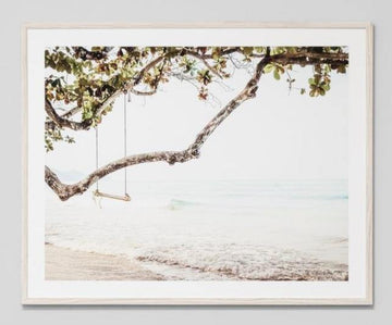 Beach Swing Framed Portrait