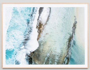 Esperance Surf Break Framed Print