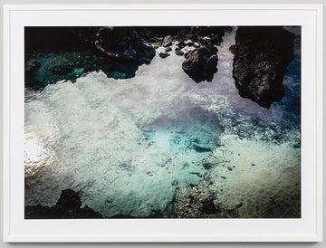 Rockpools Framed Photograph