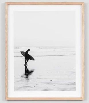 Surfer Framed Photograph