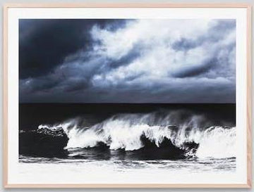 Thundering Ocean Framed Photograph