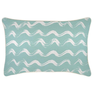 Waves with Piping Cushion 35x50cm