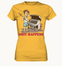 Lade das Bild in den Galerie-Viewer, Woman Shit Happens - Ladies Premium Shirt