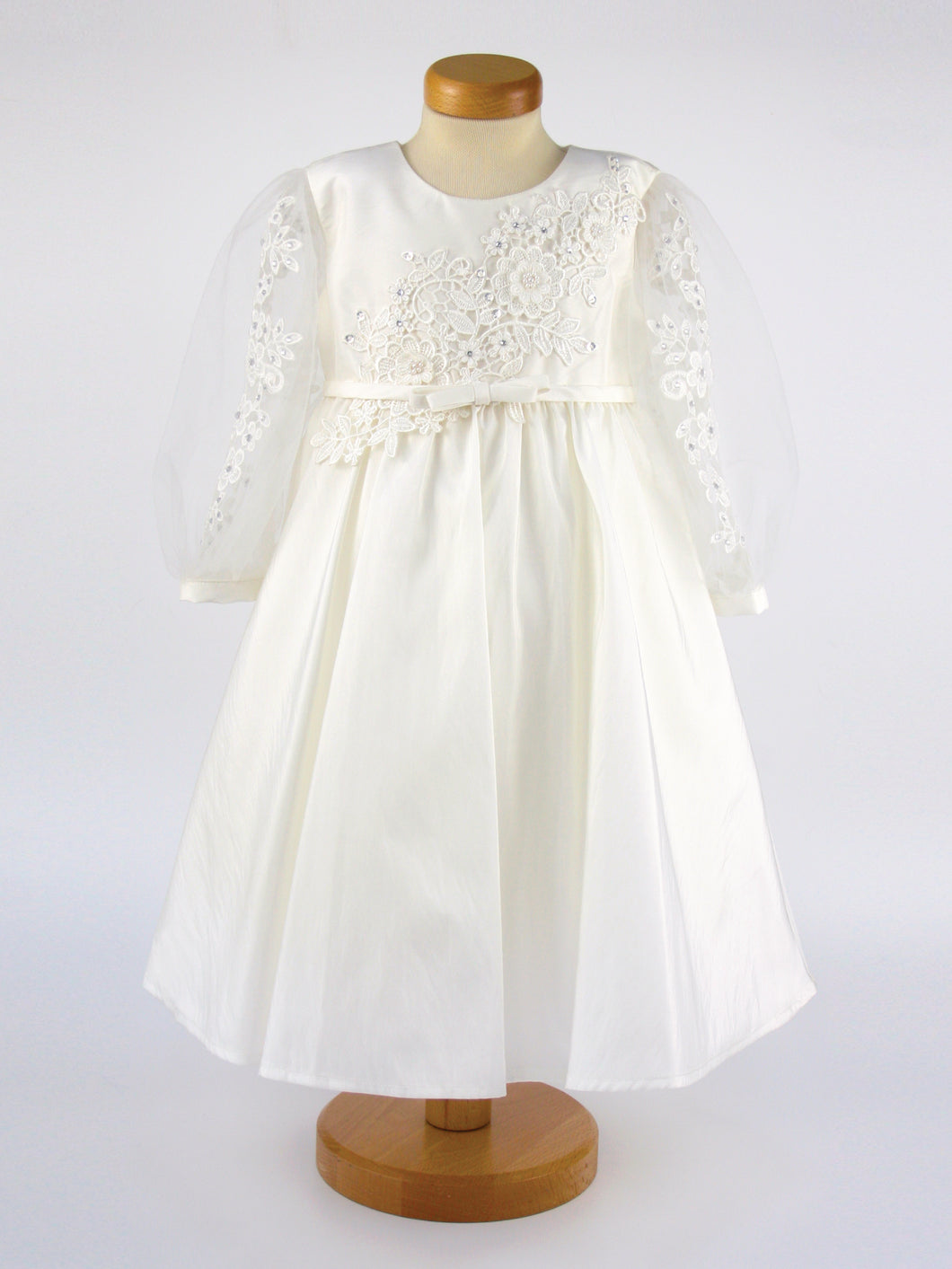 Annabelle - Crystal and Lace Dress