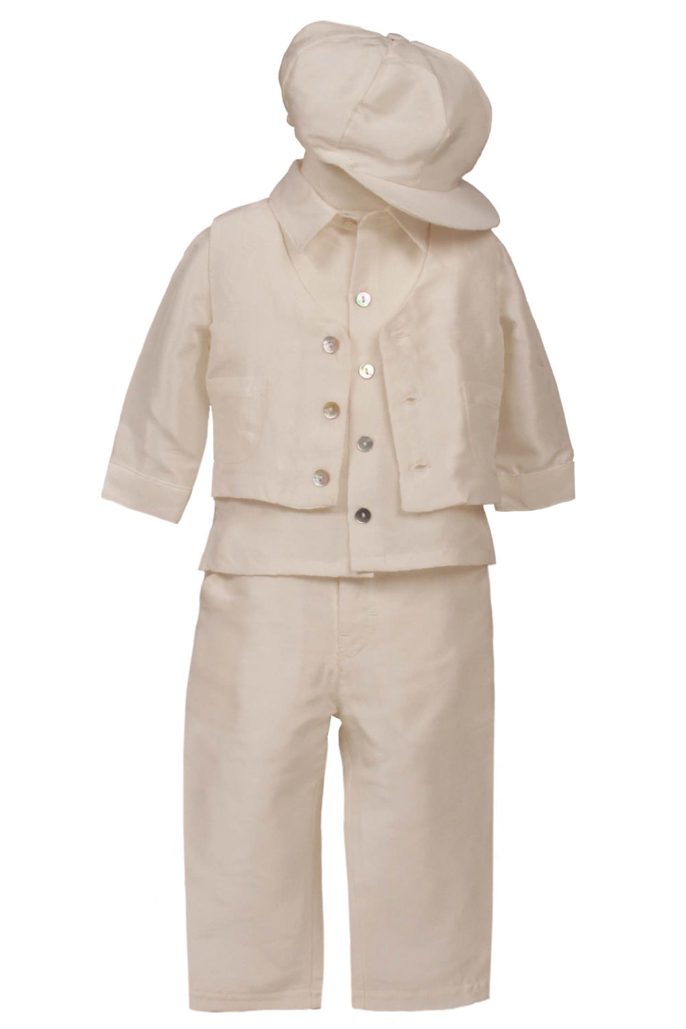 Joseph - Boys 4 Piece Silk Outfit